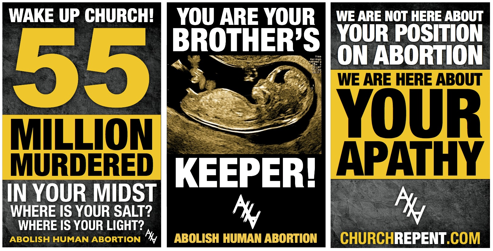 Three Pleading Signs 55 Brother Apathy CR