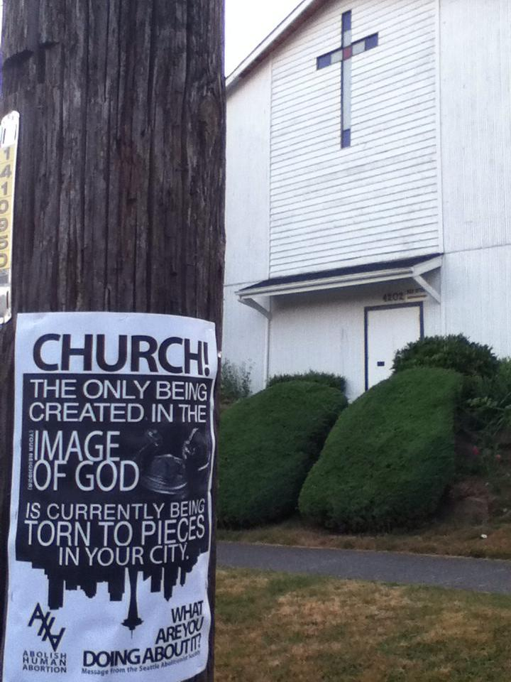 Church! Poster on Poll